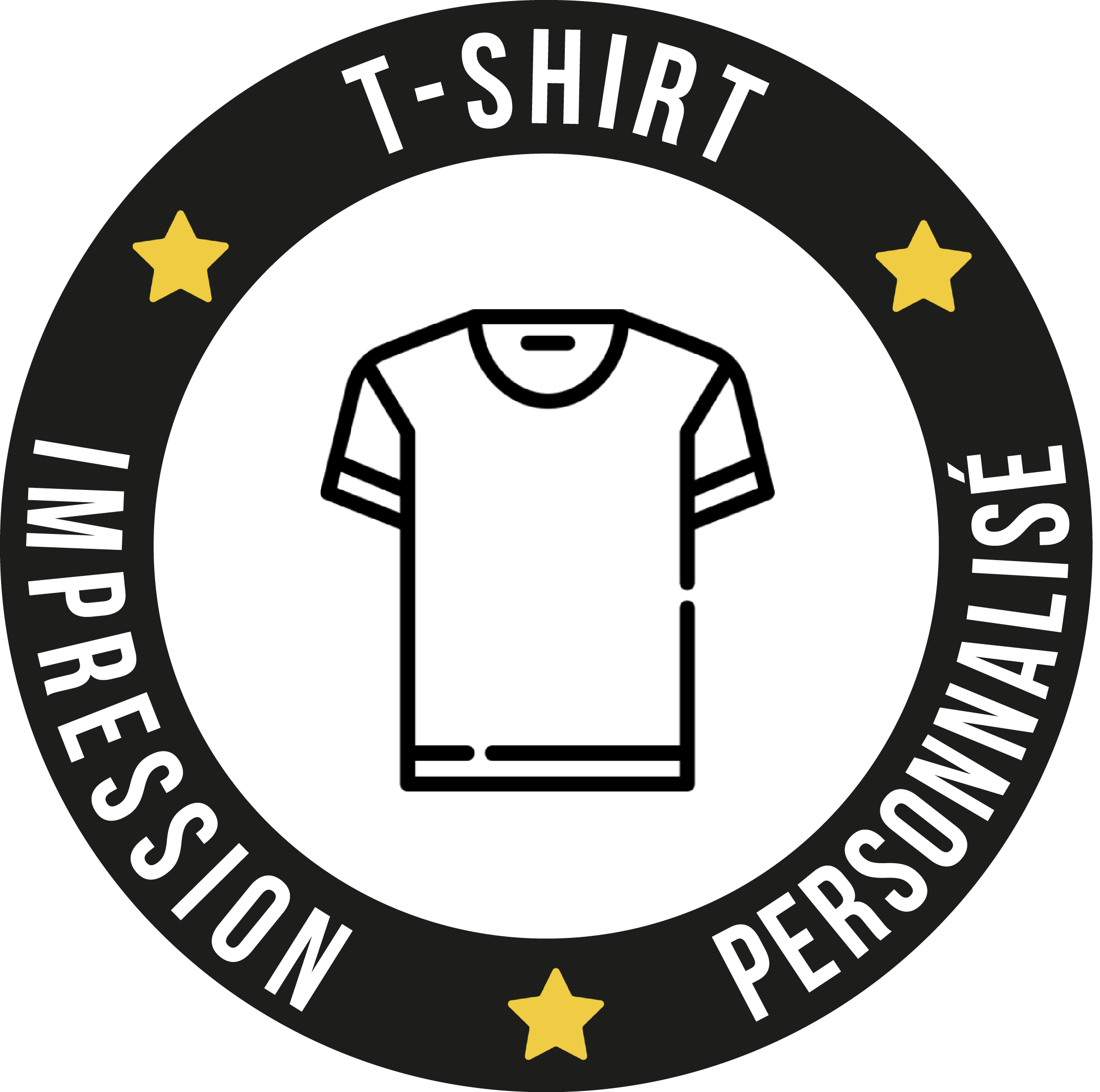 IMPRESSION T-SHIRT PERSONNALISE
